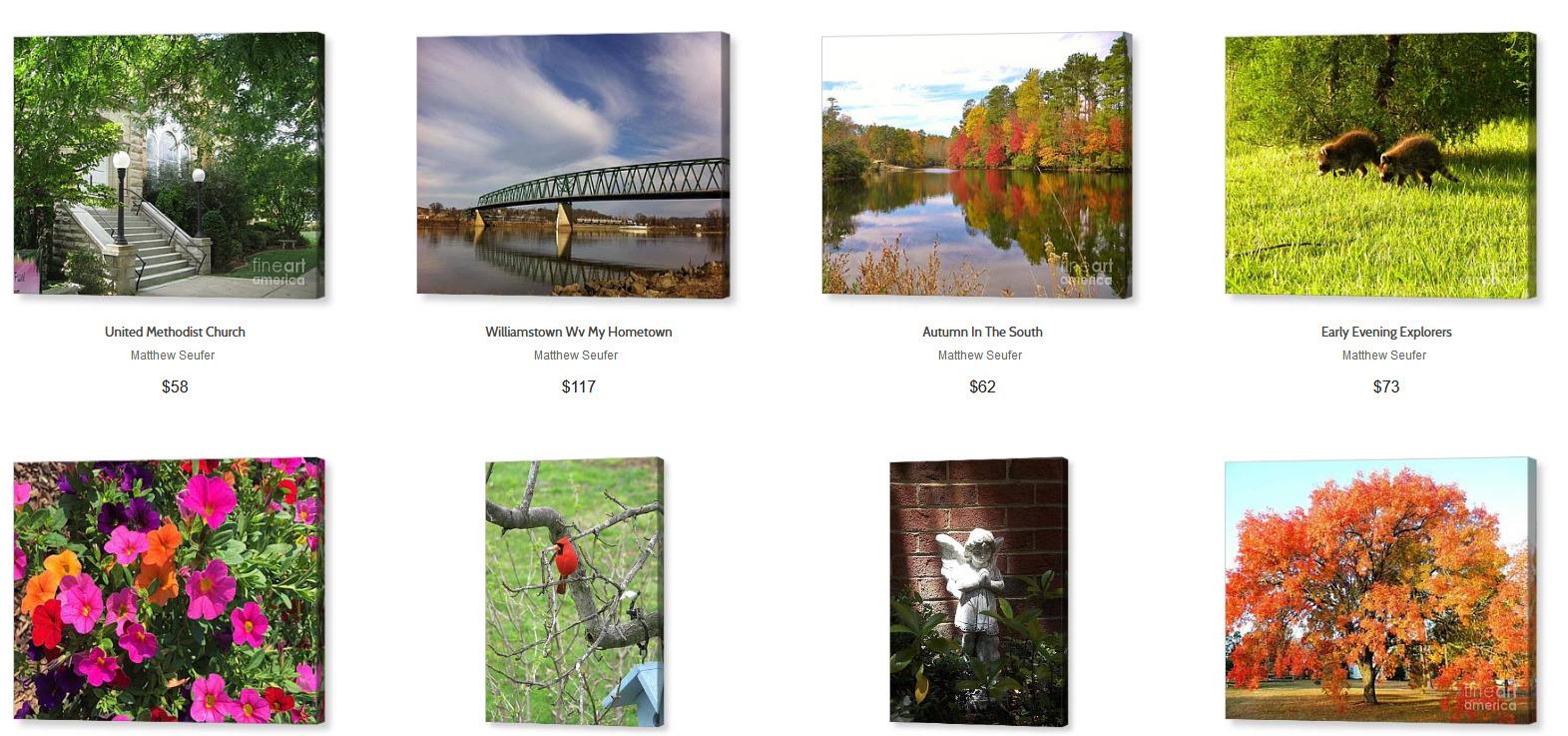 Screenshot_2019-10-11 Matthew Seufer Canvas Prints