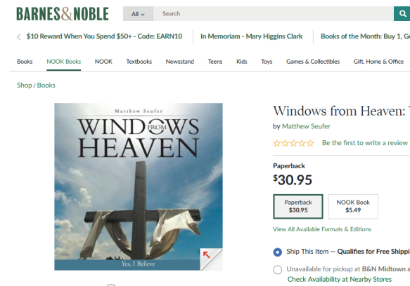 Screenshot_2020-02-02 Windows from Heaven Yes, I Believe Paperback